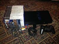 Sony PS2 / PlayStation 2 Outfit with 15 games