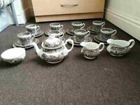 Coaching taverns 1828 royal tudor ware