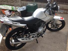 Yamaha YBR 125 cc, learner legal