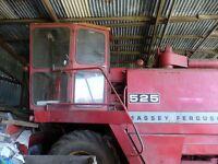 MF525 Combine Harvester
