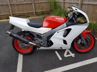 Kawasaki zx6r with trailer and spare parts