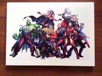 Marvel Comics Superheroes Canvas 46x33cm
