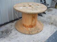 3 ft wooden reel ,