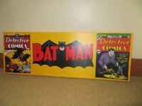 Batman Canvas, Excellent Condition