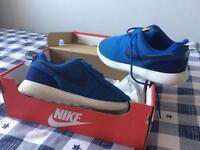 Blue Nike Roshe Trainers