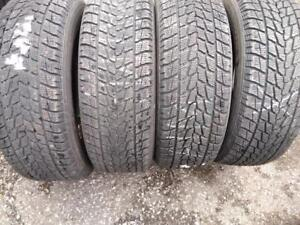 P235/60R17X4 TOYO OBSERVE USED WINTER TIRES FOR SALE