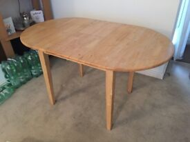 Extendable wooden table for sale