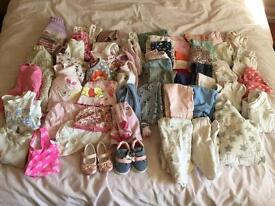 Girls / unisex bundle 3-6 months 60+items
