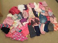 Girls 3-4 years clothing bundle (over 70 items)