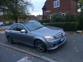 Mercedes C 320 AMG SPORTS PANORAMIC ROOF