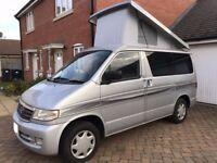 Mazda Bongo Campervan low mileage 2L petrol great condition, excellent conversion including poptop