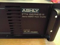 Ashly Ftx2001 Series 3 Power Amplifier