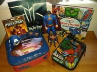 Transformers, Thunderbirds, Marvel & Dc