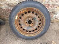 "Vauxhall Vectra C 16"" Steel Wheel And Tyre 215 55 16"