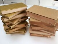 Books covered in Gold Paper