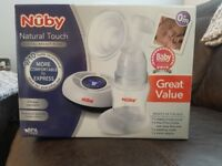 Brand new never used nuby breast pump
