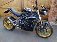Triumph speed triple, Excellent condition throughout, Must be seen to be appreciated