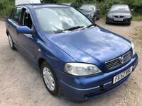 Vauxhall Astra LS DTI 16V ECO 1686cc Turbo Diesel 5 speed manual 5 door hatchback 52 Plate03/09/2002
