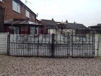 Wrought iron gates full house set / Driveway gates / Garden gates / Metal gates / Steel gates /