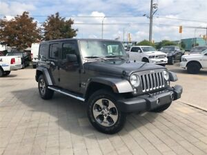 2018 Jeep WRANGLER UNLIMITED UNLIMITED SAHARA**LEATHER**NAVIGATI