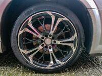 """( swap ) 17"""" Dare-ghost alloy wheels"""