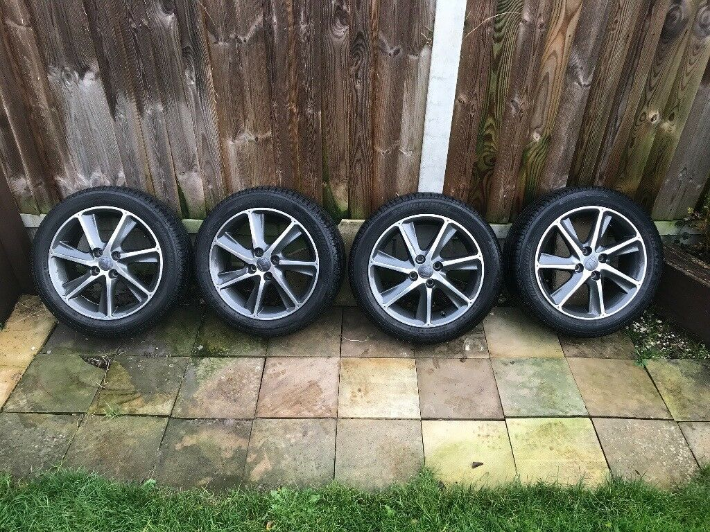 Honda Jazz Si Wheels 16inch 4x100 Alloys With Tyres In Chelmsford