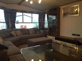 GORGEOUS LUXURY HOLIDAY HOME FOR SALE,NORTH WEST,OCEAN EDGE,SEA VIEWS,MORECAMBE! 4*HOLIDAY PARK