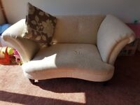 DFS Concerto - 3 seater and 2 seat cuddler + 3 cushions