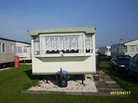 6 berth 2 bedroom caravan in ingoldmells on coral beach