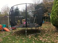 Plum 12ft trampoline with ladder
