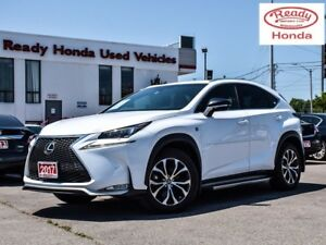 2017 Lexus NX 200t F-Sport  Series 3 - Navigation - Leather - HU