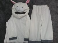 Sheep dress up costume 3-6 years