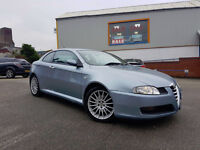ALFA ROMEO GT JTS 2.0 LUSSO , Coupe , Low Miles, Alloys Type R , Focus