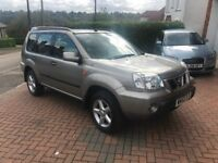 Nissan X-TRAIL 2002, rare example, 32000 miles Excellent condition SUV 4x4