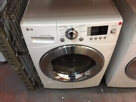 LG 9KG ECO SENSOR DRYER RECONDITIONED WHITE