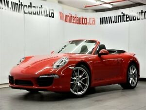 2014 Porsche 911 Carrera Cabriolet NAV / PDK / BACK UP SENSOR /