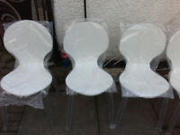 Dining Chair WHITE John Lewis Curve Dining Chair
