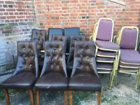 Free dining chairs (collection only)