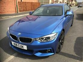 "BMW 420d M Sport with Business Pack and 19"" Black Alloys"