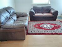 2+2 seater leather sofa for free