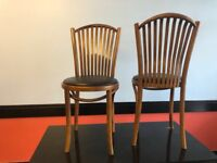 Restaurant chairs or cafe