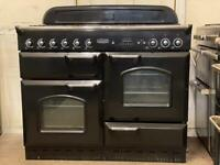 Rangemaster classic dual fuel gas range cooker 110cm 3 months warranty free local delivery