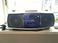 JVC CD Portable System and Radio and Tape