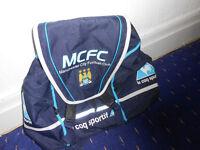 retro mcfc backpack