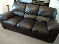 Harveys Leather 3 Piece Suite