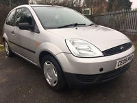 2005 FORD FIESTA * 1.2petrol * 12 MONTHS MOT * low miles * 3DOOR **DELIVERY AND PART EX AVAILABLE**