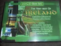 20 CD BOX SET – THE VERY BEST OF IRELAND (New & Boxed)