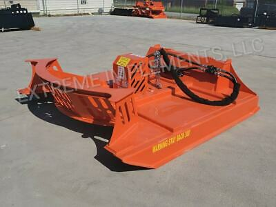 High Flow 72 Xbc-7 High Flow Extreme Skid Steer Brush Cutter-3 Blade--27-40gpm