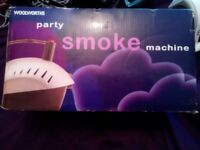 Mini fog machine