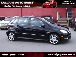 2009 Mercedes-Benz B-Class Turbo HATCHBACK/6-SPEED/LEATHER/LOW K